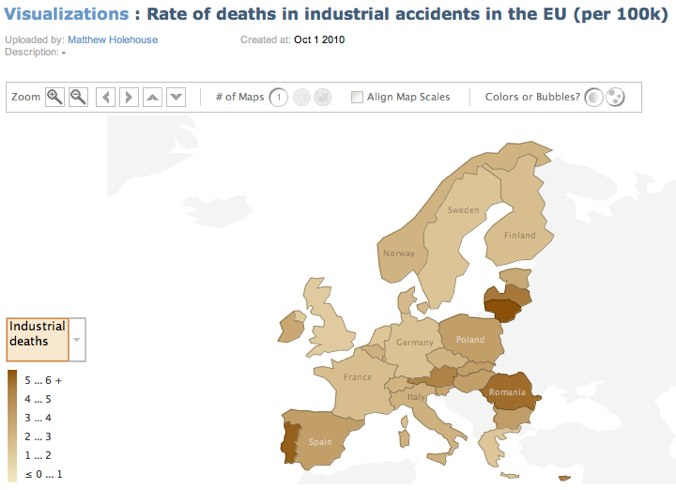 Many Eyes _ Rate of deaths in industrial accidents in the EU (per 100k)