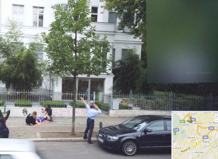 Google Street View birth