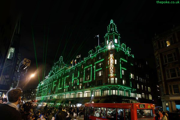 Harrods fuck you image