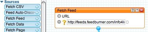 The 'Fetch Feed' module