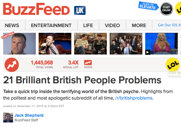 Buzzfeed lists