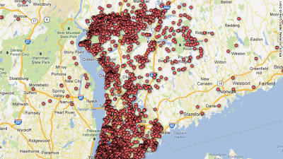 Gun permit holders map - image from Sherrie Questioning All