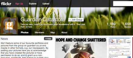 guardian flickr pool datablog