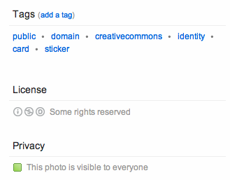 Look for an image's licensing information on Flickr on the right hand column. Make sure you click on that licence to find out what terms it requires.