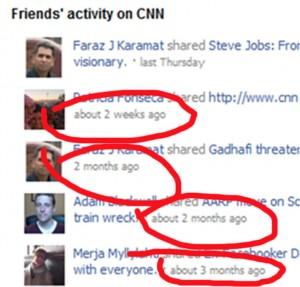 Facebook Activity Plugin