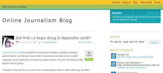 OJ blog redesign