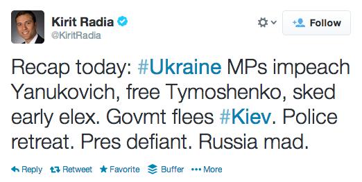 concise tweet kiev