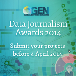 Data Journalism Awards 2014