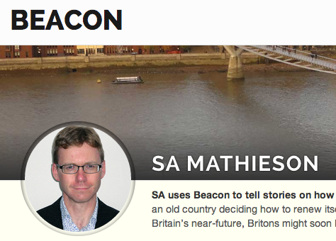 SA Mathieson Beacon page
