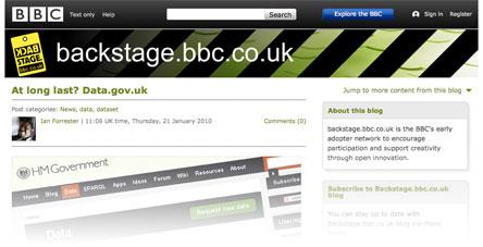 bbc backstage