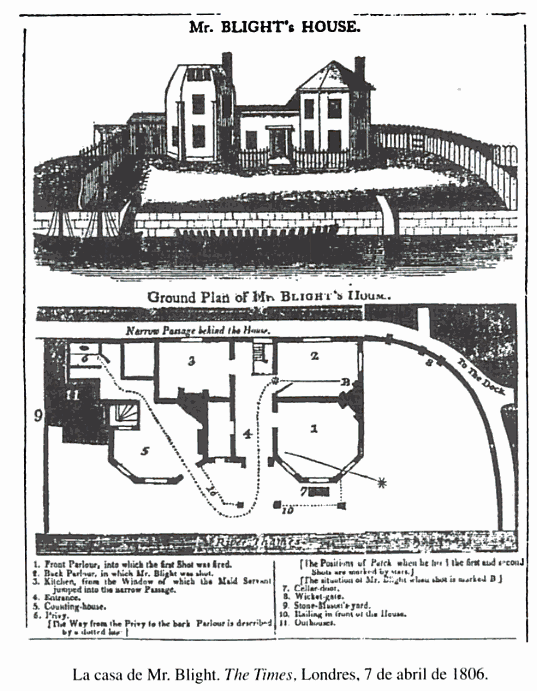In 1806 The Times ran a map to illustrate a murder on its front page