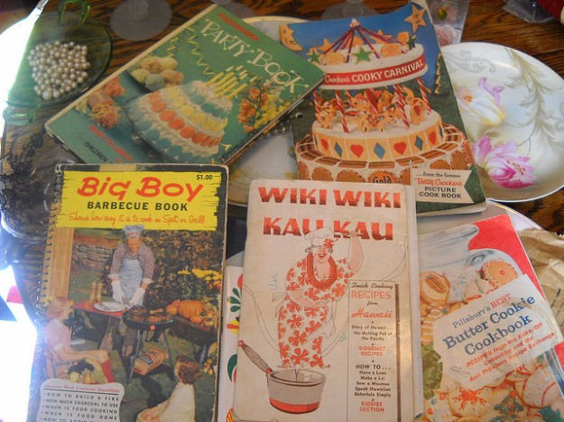 recipe books Image by Vintage Sailor