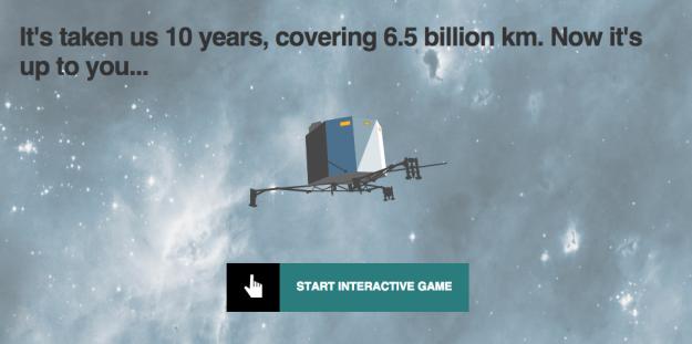 bbc comet game