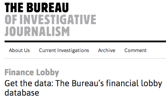How to write a get the data article online journalism for Bureau for investigative journalism