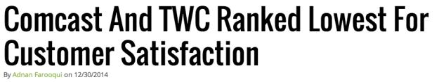 Consumer ranking story