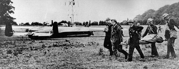 Rudolf Heitsch's flamethrower-equipped Dornier 17 on the ground near Shoreham