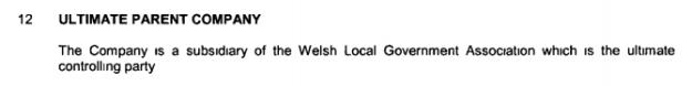 Data Unit Wales ownership