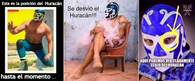 hurricane memes luchador