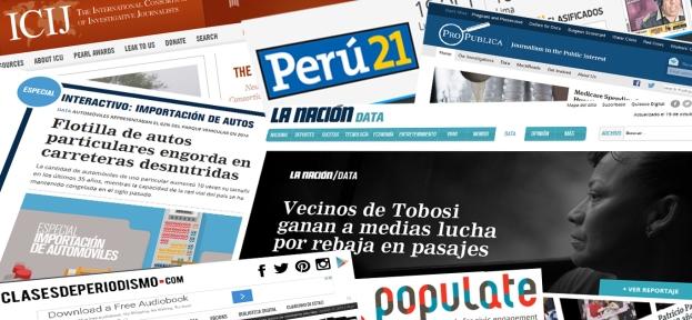 Ya se han sumado a la lista periodistas de importantes sitios webs y unidades de datos de la región
