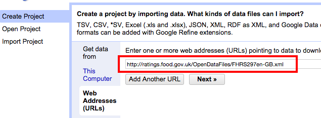 How to: convert XML or JSON into spreadsheets using Open