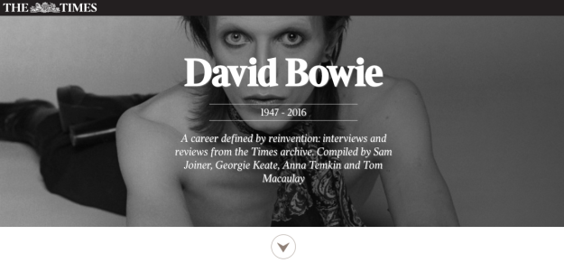 bowie archives times