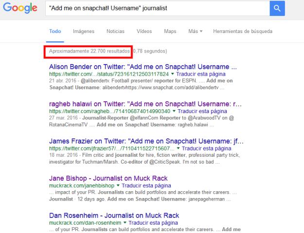 google search snapchat usernames