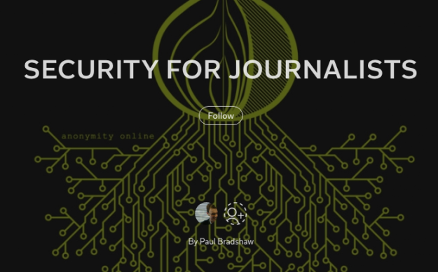 Security for Journalists cover