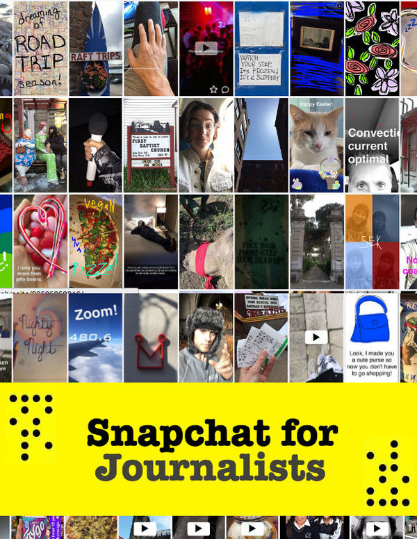 Snapchat for Journalists