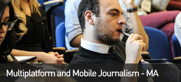 MA multiplatform mobile journalism