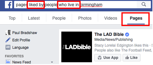 Pages liked by people who live in Birmingham