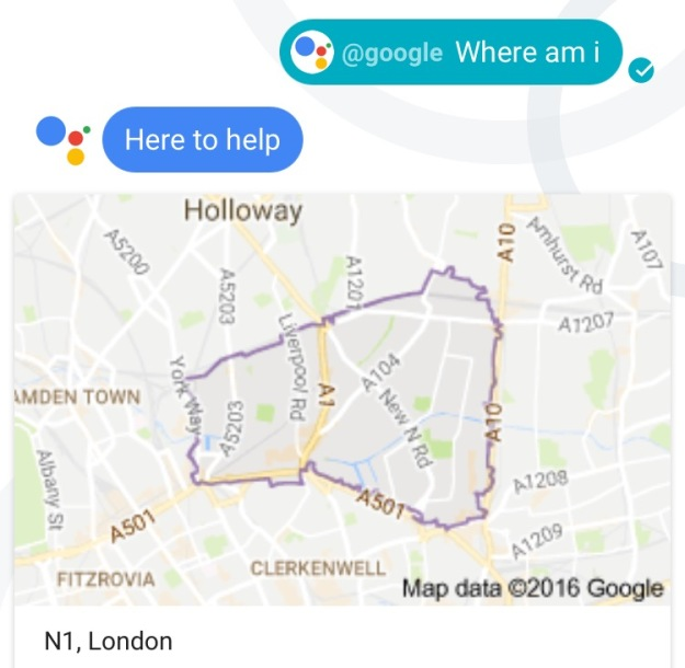 Map of N1 London