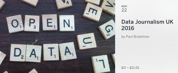 Data Journalism UK 2016