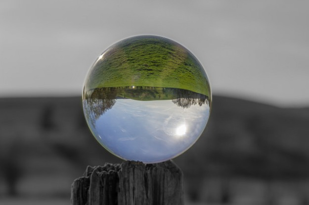 Crystal ball image by Christian R. Hamacher