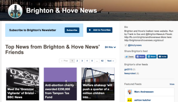 Brighton and Hove news Nuzzel