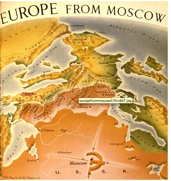 europe from moscow