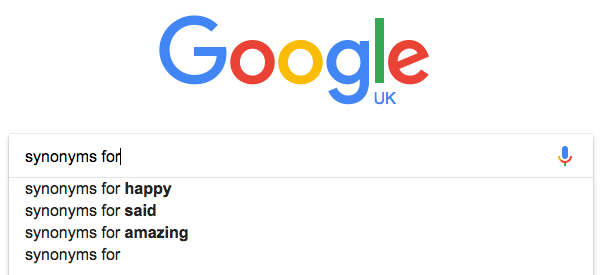 Start searching for 'synonyms for...' on Google, and 'said' is the second suggestion