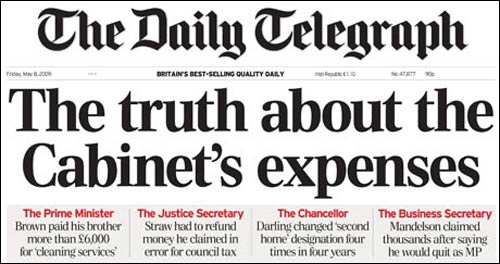 telegraph expenses data journalism