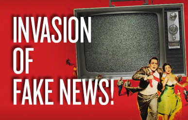 Invasion of fake news