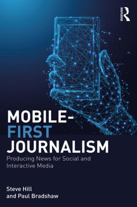 Mobile-First Journalism book cover