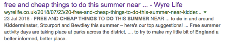 Free and cheap things to do this summer near...