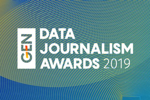 Data Journalism Awards 2019 logo