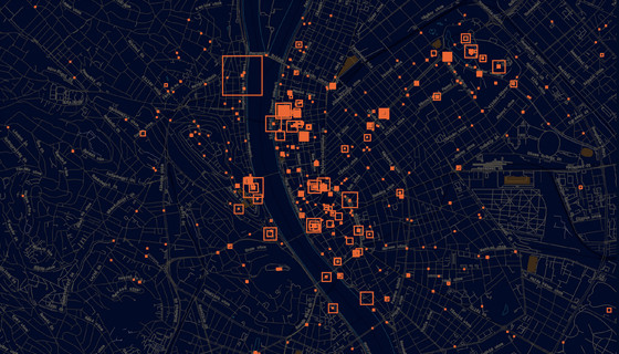 Mapping rallies and protests in Hungary by Átlátszó