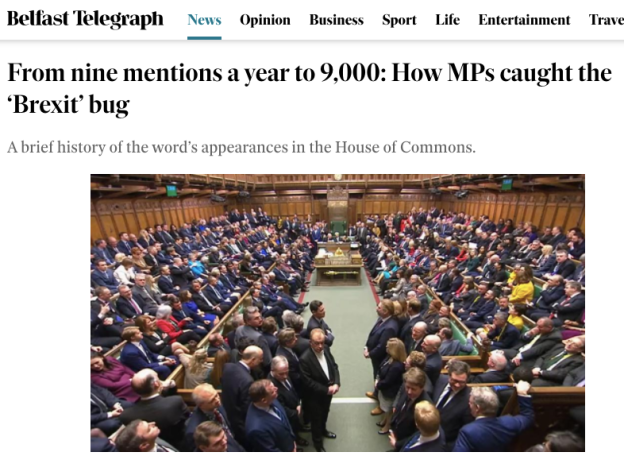 From nine mentions a year to 9,000: How MPs caught the 'Brexit' bug