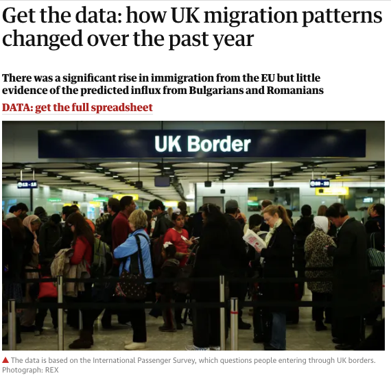 Get the data: how UK migration patterns changed over the past year
